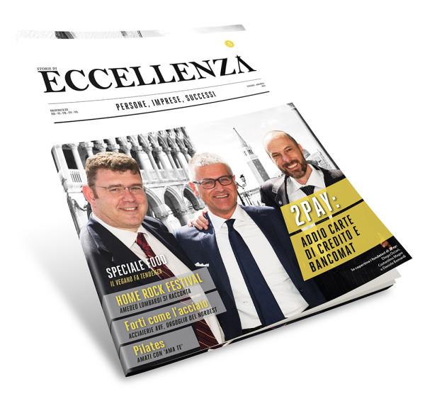 Storie di Eccellenza Copertina Edizione Luglio 2015